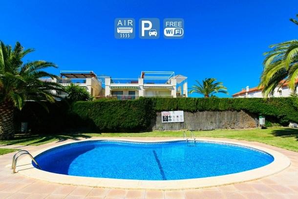 MERCURI Semi- detached House. Cambrils. Pool. Free WIFI
