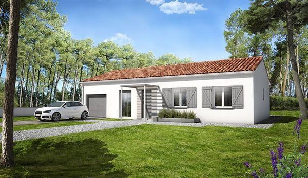 Maison  5 pièces + Terrain 429 m² Bourgneuf par LES LOGIS DU PERTUIS