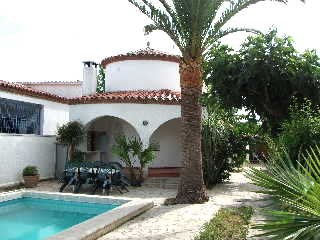 Villa calme pour 6/8 personnes Ampuriabrava avec piscine privée