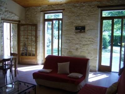 maison de vacances 7 pers. campagne procher mer - Jau-Dignac-et-Loirac