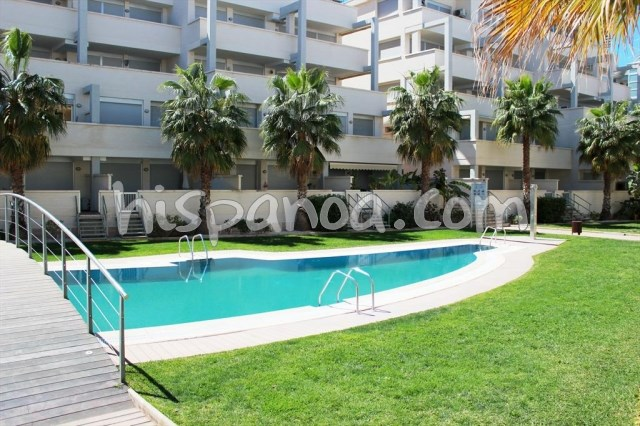 Apartment for 6 ppl. with pool, Dénia