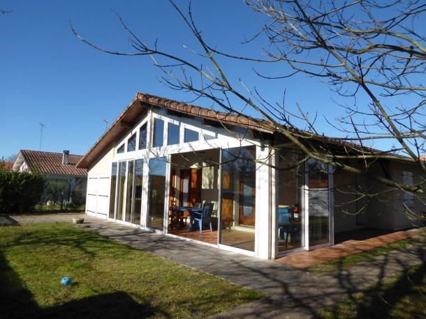 BISCARROSSE BOURG : Jolie maison avec véranda