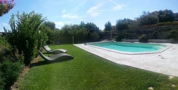 Vacance entre Luberon, Mont Ventoux et Alpilles. Gite climatisé piscine jardin.. - Châteauneuf de...