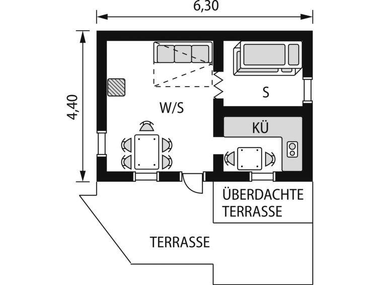 Location vacances Nissedal -  Maison - 4 personnes -  - Photo N° 1
