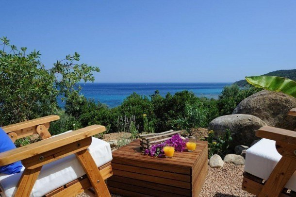 Location vacances Zonza -  Appartement - 3 personnes - Barbecue - Photo N° 1