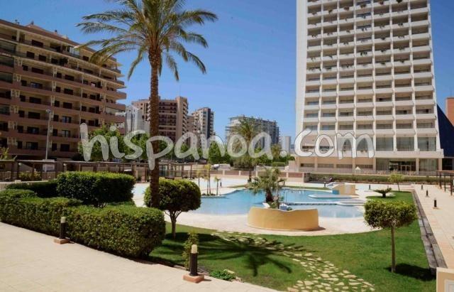 Très bel appartement avec vue mer en location à Calpe |gtapo1617