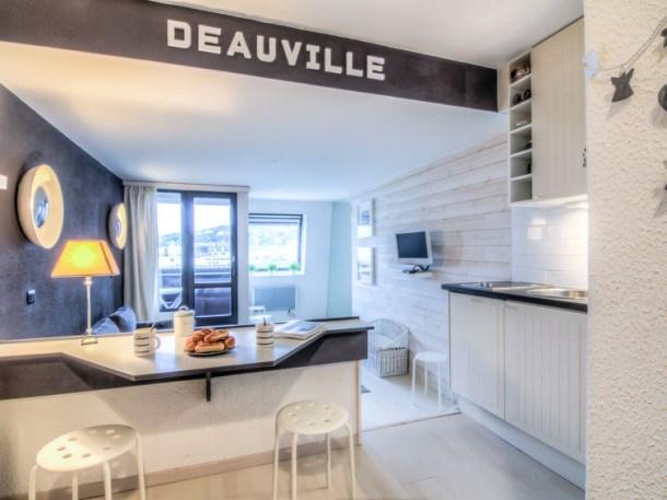 Location vacances Deauville -  Appartement - 2 personnes - Lecteur DVD - Photo N° 1