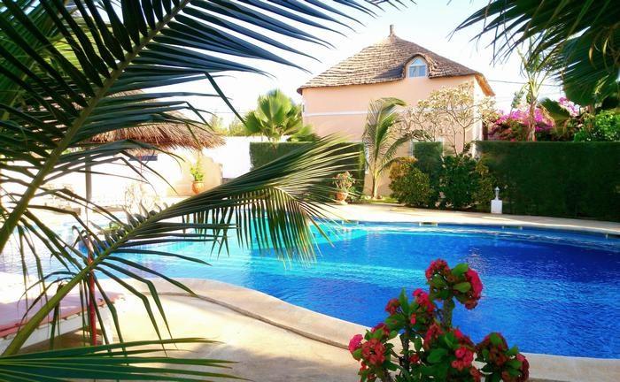 villa avec acces direct sur la piscine