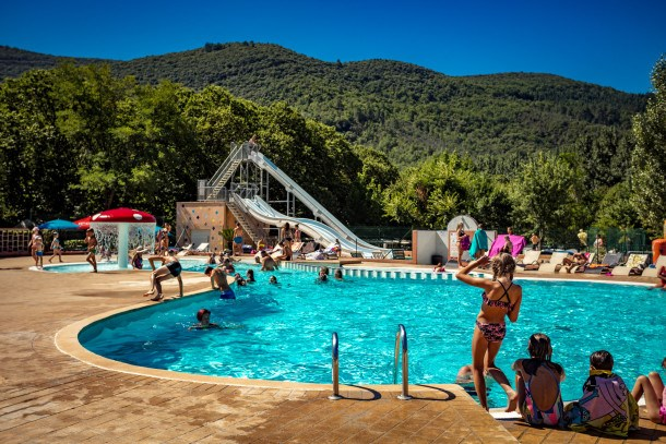 Camping les Plans - mh 2 chambres 4/5 personnes