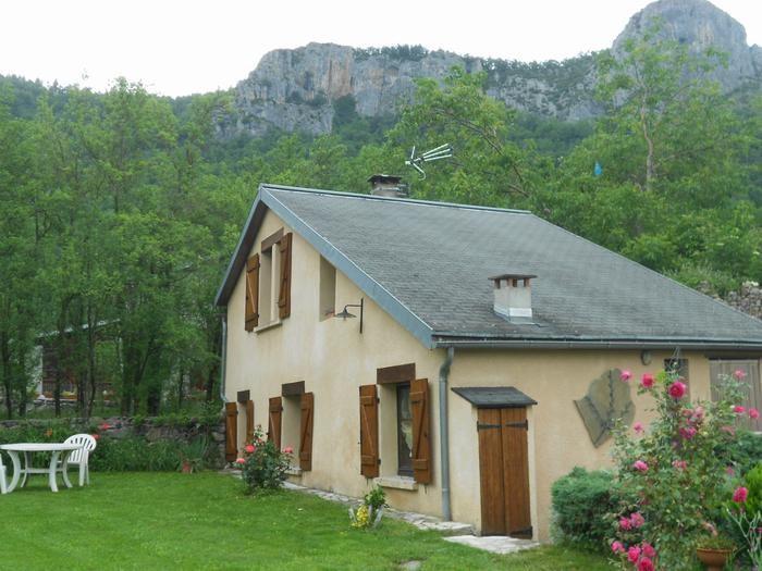 Chalet, jardin et environnement