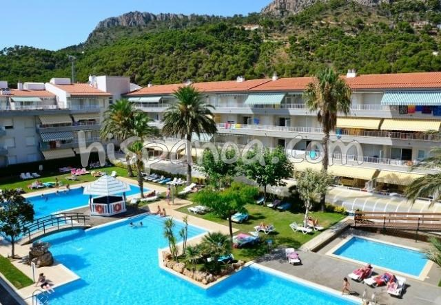 Location vacances Torroella de Montgrí -  Appartement - 5 personnes - Salon de jardin - Photo N° 1
