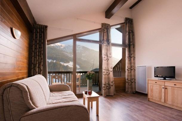 Location vacances Hauteluce -  Appartement - 4 personnes - Billard - Photo N° 1