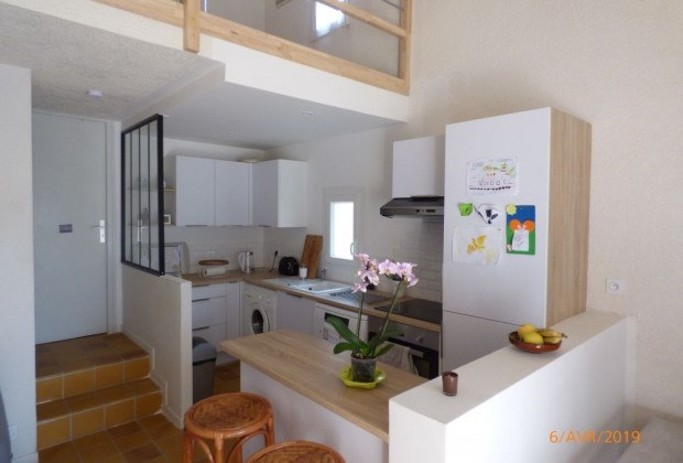 Location vacances Narbonne -  Appartement - 4 personnes - Jardin - Photo N° 1