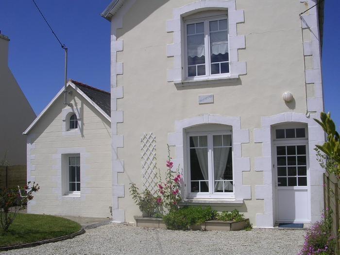 façade maison sur cour