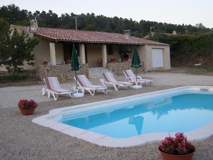 Villa pour 6 pers. avec piscine privée, Barjols
