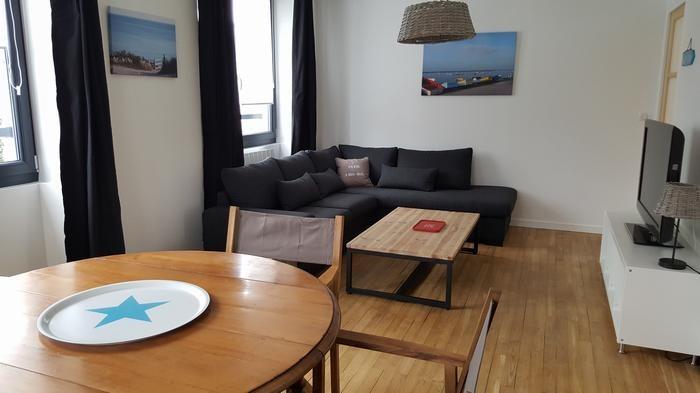 Location vacances Fouesnant -  Appartement - 6 personnes - Salon de jardin - Photo N° 1