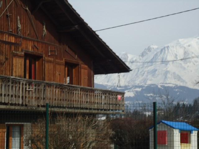 appartement RDC vue s/ Mt -Blanc
