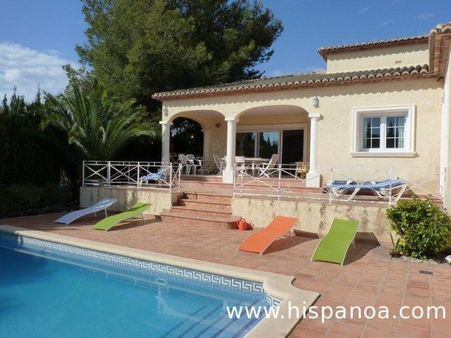 Holiday rentals Calp - House - 8 persons - BBQ - Photo N° 1