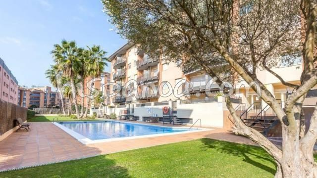 Location vacances Lloret de Mar -  Appartement - 4 personnes - Salon de jardin - Photo N° 1