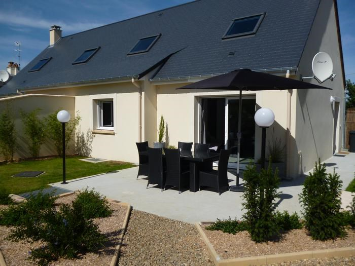 Location vacances Port-en-Bessin-Huppain -  Maison - 6 personnes - Barbecue - Photo N° 1