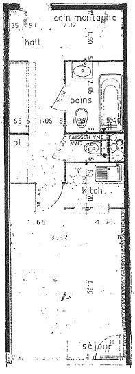 Appartement 4 pièces 8 personnes (M9)