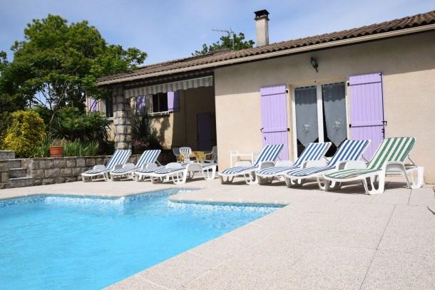 Location vacances Sampzon -  Maison - 6 personnes - Barbecue - Photo N° 1