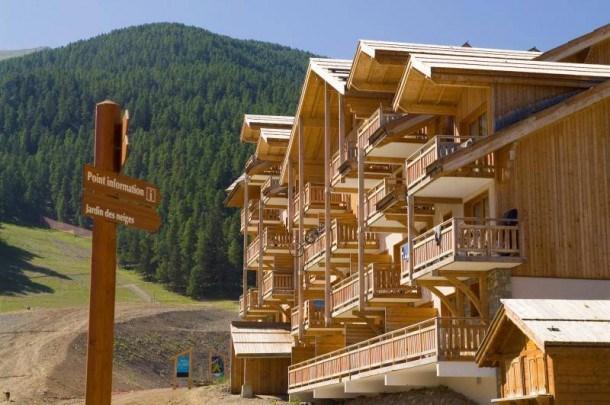 Résidence Le Parc des Airelles -appartement vue pistes -BBO- coin montagne