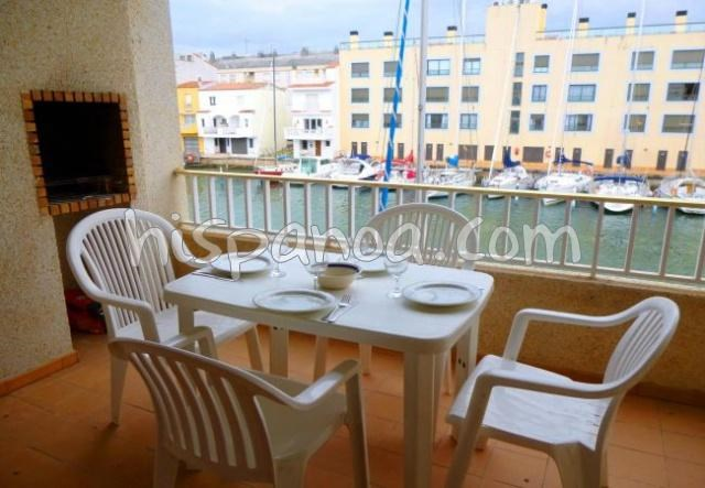Location vacances Castelló d'Empúries -  Appartement - 6 personnes - Barbecue - Photo N° 1