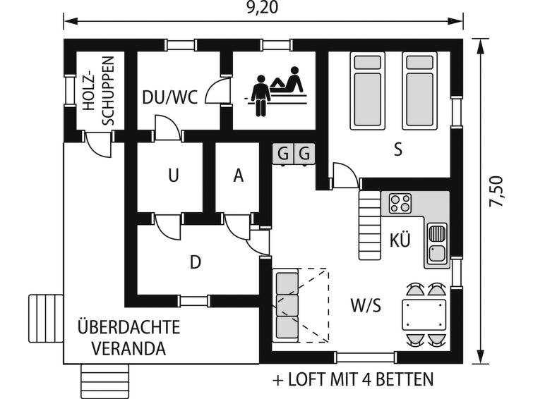 Location vacances Lieksa -  Maison - 6 personnes -  - Photo N° 1