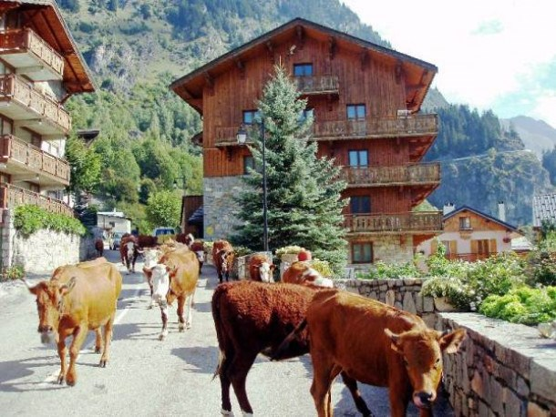 Location vacances Champagny-en-Vanoise -  Appartement - 6 personnes - Câble / satellite - Photo N° 1