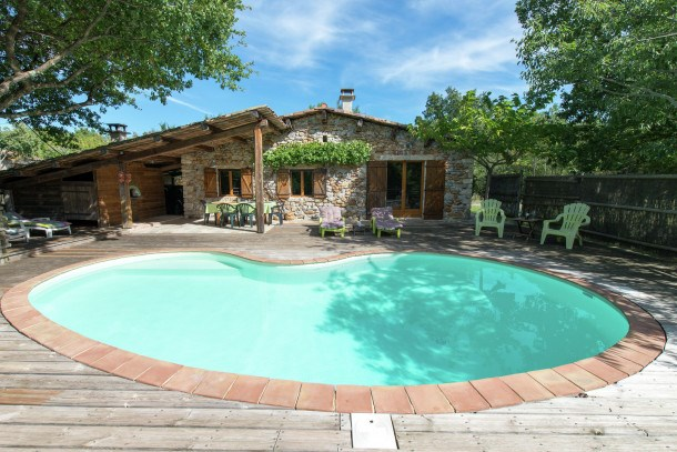 Location vacances Saint-Alban-Auriolles -  Maison - 4 personnes - Barbecue - Photo N° 1
