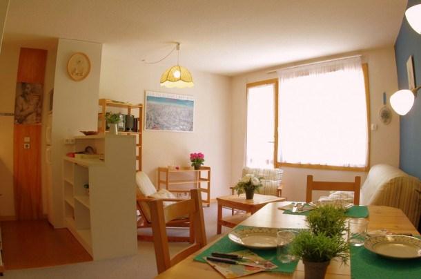 Location vacances Les Avanchers-Valmorel -  Appartement - 6 personnes - Lecteur DVD - Photo N° 1