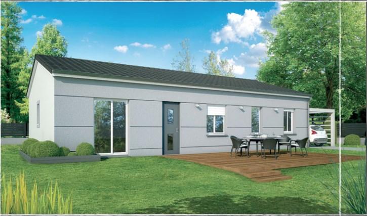Maison  3 pièces + Terrain 185 m² Pia par DEMEURES DU ROUSSILLON