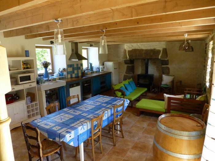 Location vacances Plounéour-Trez -  Maison - 7 personnes - Barbecue - Photo N° 1