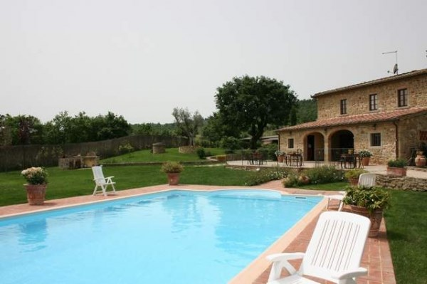 Toscane, Civitella in Valdichiana, splendide villa 18 pers. piscine privée