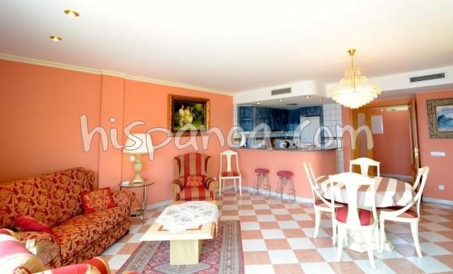 Location vacances l'Escala -  Appartement - 5 personnes - Salon de jardin - Photo N° 1
