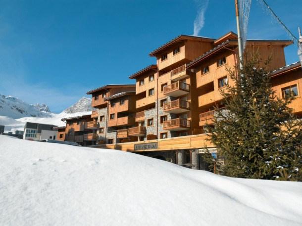 Location vacances Tignes -  Appartement - 8 personnes - Terrasse - Photo N° 1