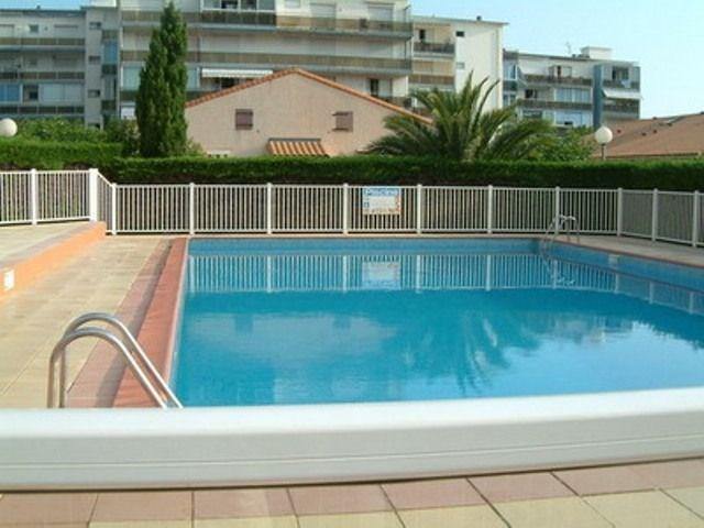 Maison 2 pièces avec mezzanine de 35 m² environ pour 6 personnes situé à 300 m de la mer, la Résidence sécurisée « Le...