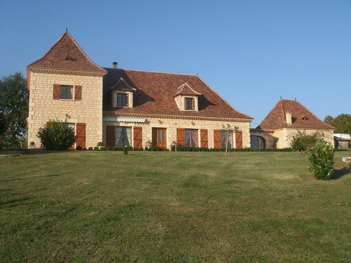Maison pour 15 pers. avec piscine privée, Liorac-sur-Louyre