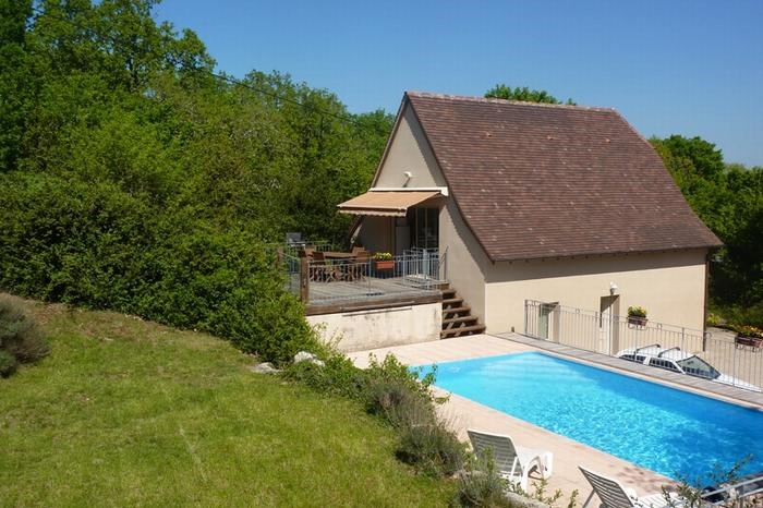 Holiday rentals Loubressac - House - 8 persons - BBQ - Photo N° 1