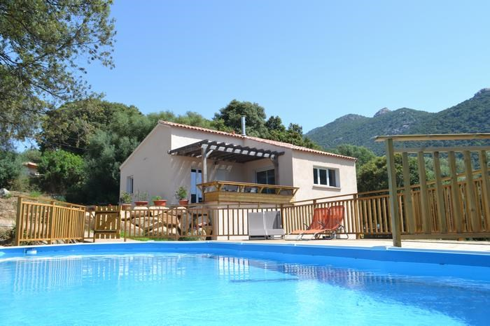 Location vacances Olmeto -  Maison - 6 personnes - Barbecue - Photo N° 1