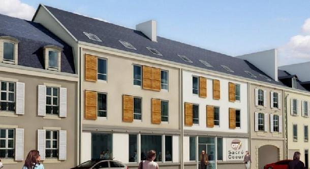 Appart Hôtel Quimper - Studio lit double ou twin