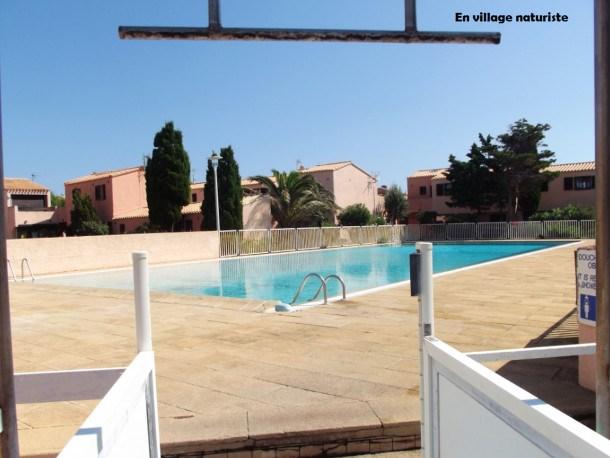 Location vacances Leucate -  Appartement - 2 personnes - Jardin - Photo N° 1