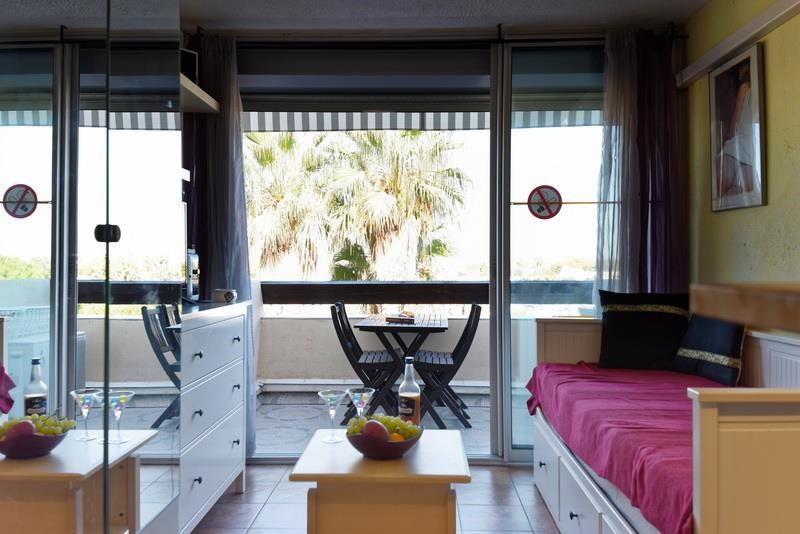 Holiday rentals Agde - Apartment - 2 persons - Garden furniture - Photo N° 1