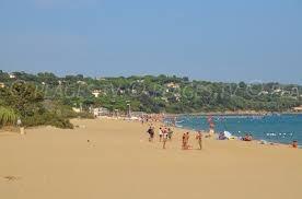 la  plage Cavalaire