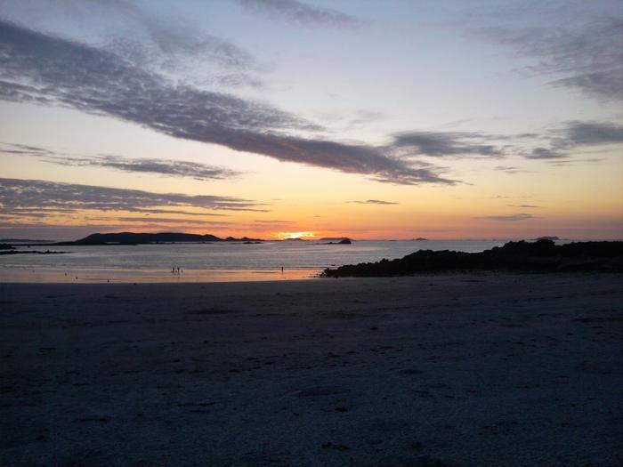 La plage de Trestel