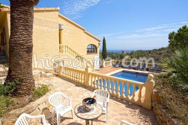 Agréable villa pour 12 personnes avec piscine privée à Denia   Cas Berg