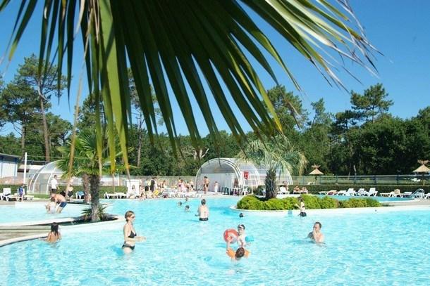 Camping Les Viviers 4* - Mobil-home Privilège TV Wifi - 2 chambres / 2 salles de bain - 4/6 personnes