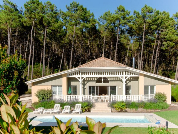 Location vacances Lacanau -  Maison - 8 personnes - Barbecue - Photo N° 1