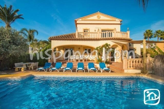 Location vacances Teulada -  Maison - 8 personnes - Barbecue - Photo N° 1